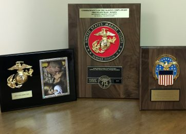 Deluxe Metal Casting Awards and Plaques