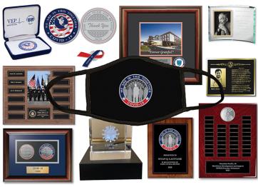 COVID 19 Awards & Memorabilia