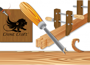 Illustration Showing Woodworking Capabilities