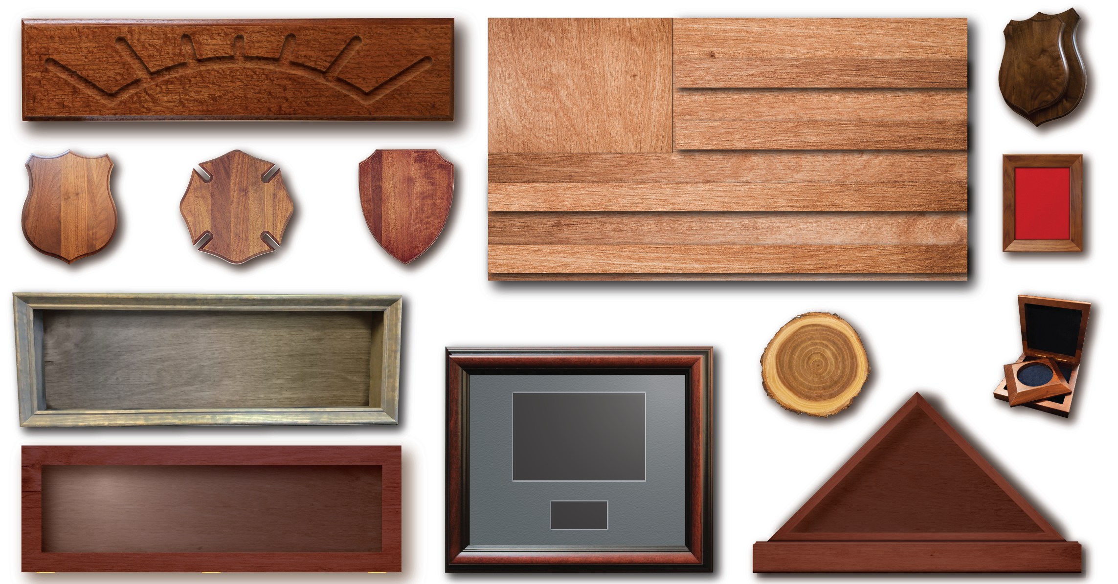 Woodworking and Framing Product Examples